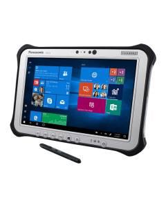 "Panasonic Toughpad G1, FZ-G1 MK3, Intel Core i5-5300U 2.30GHz, 10.1"" WUXGA Gloved Multi Touch + Digitizer LCD, 8GB DDR3L SDRAM, Wi-Fi, Bluetooth, Camera, Webcam, Dual Pass (Ch1:WWAN/Ch2:GPS) , 4G LTE, Windows 10 Professional"
