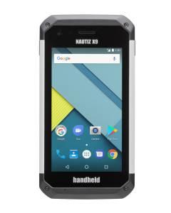 "NAUTIZ X9, MediaTek MT6735, ARM Cortex-A53 1.3 GHz 64-bit quad-core, 2GB, 16GB, 5"" Multi-touch, Front & Rear Cam, 2d Scanner, Android 7 GMS"