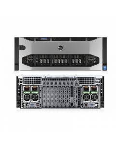 Dell PowerEdge R920 4U E7-4809v2*2/4G/2*300G 2.5 SAS10K/4*1GE/H730P 2G/1100W*2/DVD