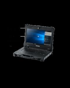 "Durabook Z14 Basic, 14"" FHD (1920 x1080) Sunlight Readable Touchscreen, Intel® Core™ i5-8250U Processor 1.6GHz up to 3.40 GHz, Win10 Pro, 8GB RAM, 256GB SSD, Backlit Keyboard, Bluetooth 5.0, PCMCIA Type II + Express Card 54, 2.0 MP webcam, 3-Year"